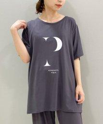gelato pique/イニシャルロゴレーヨンTシャツ/503363319