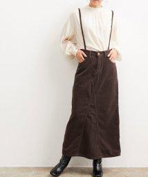 ViS/【Lee×ViS】サスペンダー付きスカート/503363326