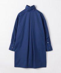 CABaN /コットン ハイネックシャツドレス/503363491