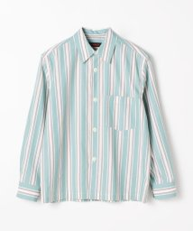 CABaN /コットンマルチストライプ オーバーサイズシャツ/503363510