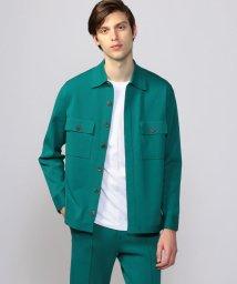 CABaN /ファインポリエステル 2ポケットシャツ/503363556