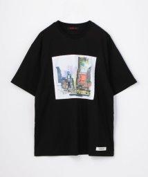 CABaN /CABaN×Fabrice Moireau アートTシャツ/503363594