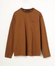 CABaN /コットン クルーネックロングスリーブTシャツ/503363602