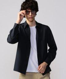 CABaN /ドライウールタイプライター オーバーサイズシャツ/503363649