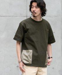 URBAN RESEARCH Sonny Label/FEELCOOL配色ダブルポケットTシャツ/503363848