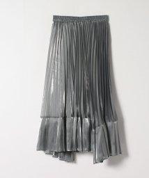 LANVIN en Bleu/オーガンジープリーツスカート/503175416