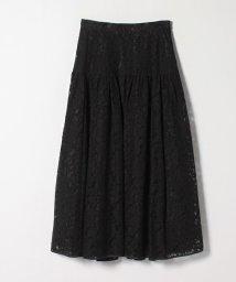 LANVIN en Bleu/レースギャザースカート/503175418