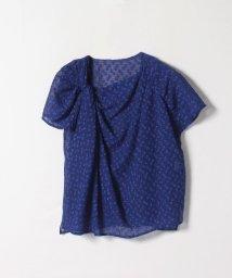 LANVIN en Bleu/シアードットアシメブラウス/503175421