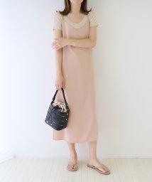 BLUEEAST/バッククロス裾スリットキャミワンピース/503294858