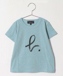 agnes b. ENFANT/SY69 E TS キッズ b. ロゴTシャツ/503359041