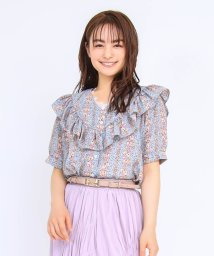 axes femme/レトロ花柄BL/503360135