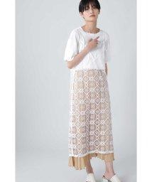 ROSE BUD/レース刺繍キャミワンピース/503361718