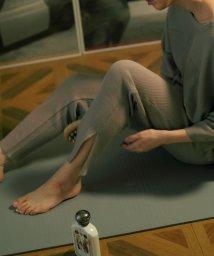 green label relaxing/[Tanacana (タナカーナ)] SC サーマル スリット パンツ/503365950