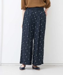 collex/小花刺繍ワイドパンツ/503366212