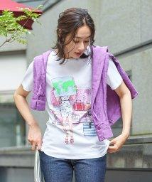CARA O CRUZ/ガールモチーフTシャツ/503152929