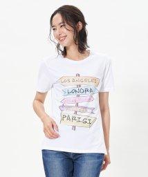 CARA O CRUZ/ロゴTシャツ/503152930