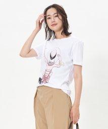 CARA O CRUZ/ガールモチーフTシャツ/503152931