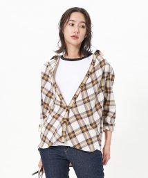 CARA O CRUZ/【CANCLINI】チェックシャツ/503335041