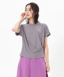 CARA O CRUZ/タックTシャツ/503335046