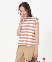 CARA O CRUZ/ハイネックボーダーTシャツ/503335047