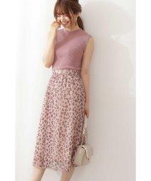 PROPORTION BODY DRESSING/シフォンレオパードスカート/503355116