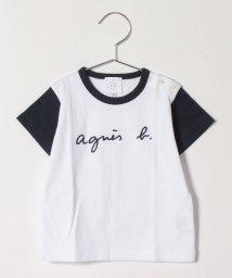 agnes b. ENFANT/SCY1 L TS ベビー ロゴTシャツ/503359050