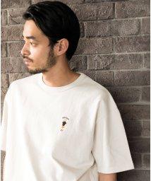 ALWAYS GOOD TIME NEW BASIC STORE/NORMANBROS(ノーマンブロス)DAD刺繍Tシャツ/503363183