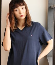 ALWAYS GOOD TIME NEW BASIC STORE/【TOMMY HILFIGER/トミーヒルフィガー】Vネック無地Tシャツ/09T3140/503363213