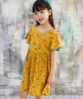 子供服Bee/花柄フリルワンピース/503364673
