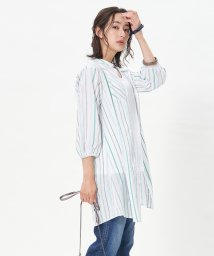 CARA O CRUZ/【CANGIOLI 】ロングストライプシャツ/503366033