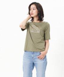 CARA O CRUZ/メタリックロゴTシャツ/503366049