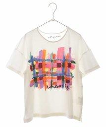 HIROKO BIS/【洗濯機で洗える/日本製】HIROKOプリントTシャツ/503366486