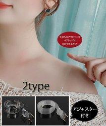 shoppinggo/ブラストラップ 透明 ストラップ下着 レディース インナー ブラジャー小物 透明 付け替え アジャスター付き/503367389