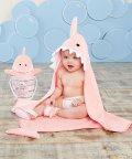Baby Aspen/Baby Aspen ベビーアスペン ベビーバスギフト 3点セット ピンク シャーク/503369100