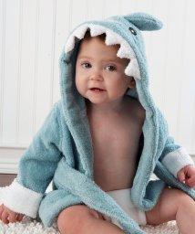 Baby Aspen/Baby Aspen ベビーアスペン フード付きベビーバスローブ ブルー シャーク/503369101