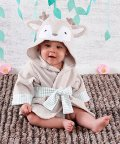 Baby Aspen/Baby Aspen ベビーアスペン フード付きベビーバスローブ ディア/503369103