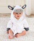 Baby Aspen/Baby Aspen ベビーアスペン フード付きベビーバスローブ カウ/503369104