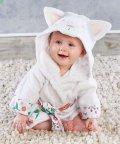 Baby Aspen/Baby Aspen ベビーアスペン フード付きベビーバスローブ キャット/503369105