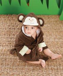 Baby Aspen/Baby Aspen ベビーアスペン フード付きベビーバスローブ モンキー/503369106
