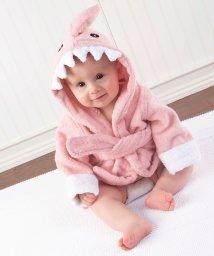 Baby Aspen/Baby Aspen ベビーアスペン フード付きベビーバスローブ ピンク シャーク/503369107