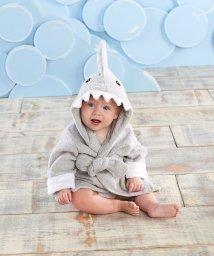 Baby Aspen/Baby Aspen ベビーアスペン フード付きベビーバスローブ グレー シャーク/503369109