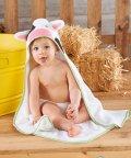 Baby Aspen/Baby Aspen ベビーアスペン フード付きベビーバスタオル カウ/503369113