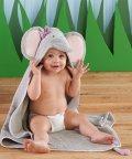 Baby Aspen/Baby Aspen ベビーアスペン フード付きベビーバスタオル エレファント/503369115