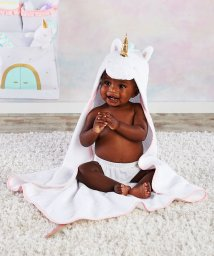 Baby Aspen/Baby Aspen ベビーアスペン フード付きベビーバスタオル ユニコーン/503369116