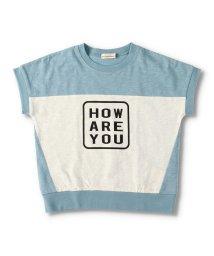 branshes/【プチプラ】バイカラーロゴ半袖Tシャツ/503369214