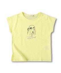 branshes/【プチプラ】ガールプリント半袖Tシャツ/503369218