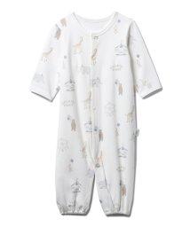 gelato pique Kids&Baby/【BABY】【新生児】ピケランド2wayオール/503369434