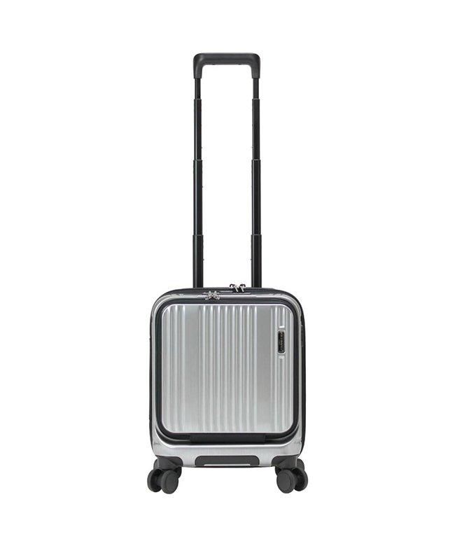 カバンのセレクション バーマス インターシティ 機内持ち込み SSサイズ 22L コインロッカー フロントオープン ストッパー付き BERMAS 60504 ユニセックス シルバー フリー 【Bag & Luggage SELECTION】