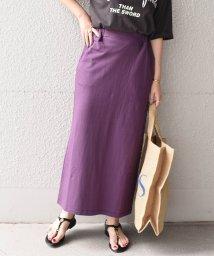 SHIPS any WOMENS/《予約》SHIPS any:ミニ裏毛ストレートスカート/503370384