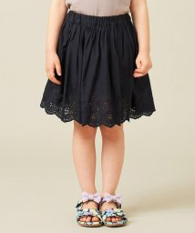 anyFAM(KIDS)/【90‐130cm】スカラップ刺繍 インナーパンツ付スカート/503370883